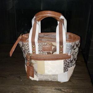 Fun Fashion Patchwork Tote Bag